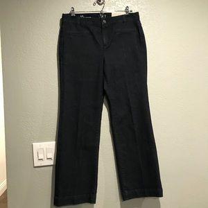 Ann Taylor LOFT denim trouser jeans